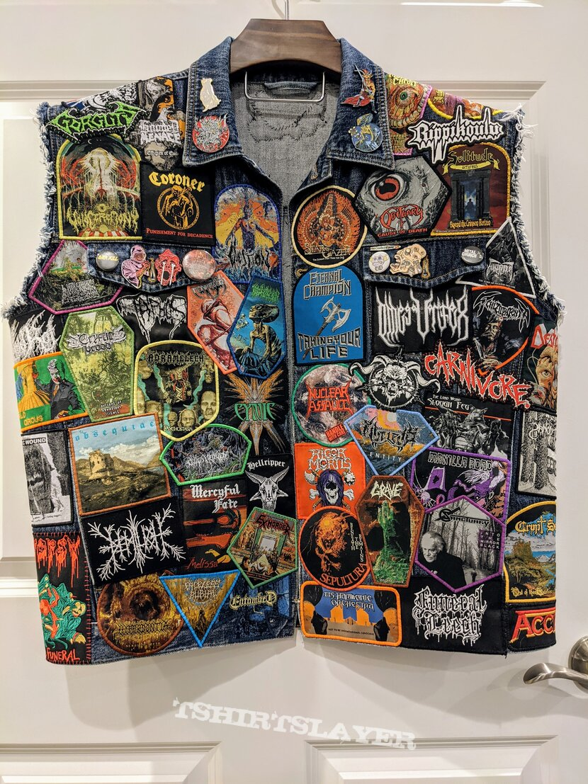 Patch Jacket Started During Lockdowns