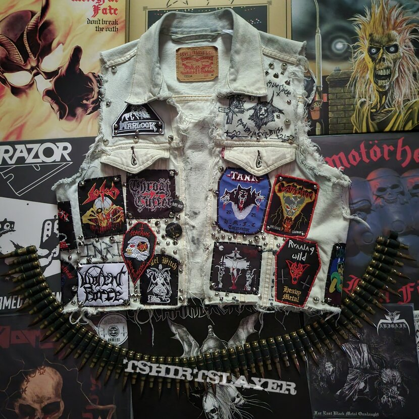 The vest that's not done still