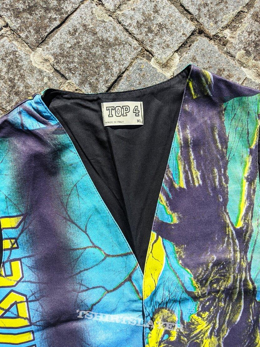 90's Iron maiden fear of the dark vest XL