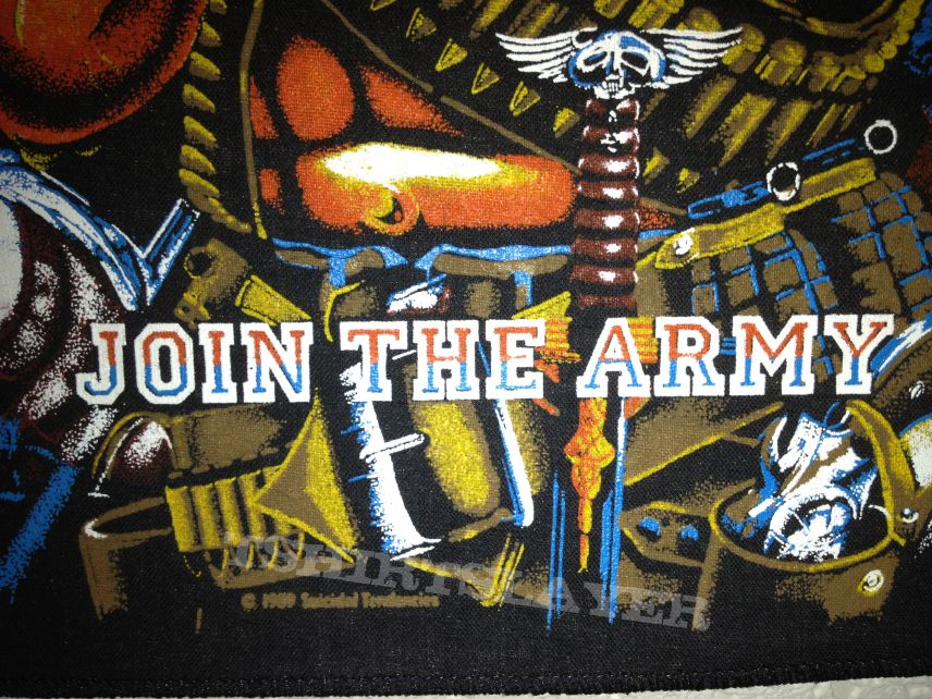 Patch - Suicidal Tendencies - Join The Army Backpatch (For trade!)