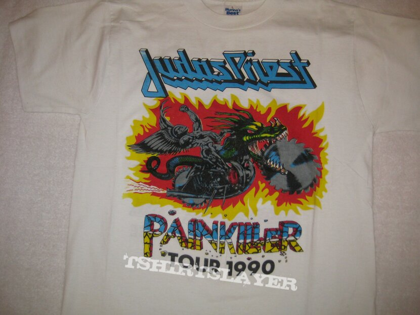 Judas Priest Painkiller Tour Shirt