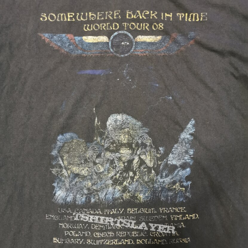 Iron Maiden Somewhere Back In Time World Tour 2008