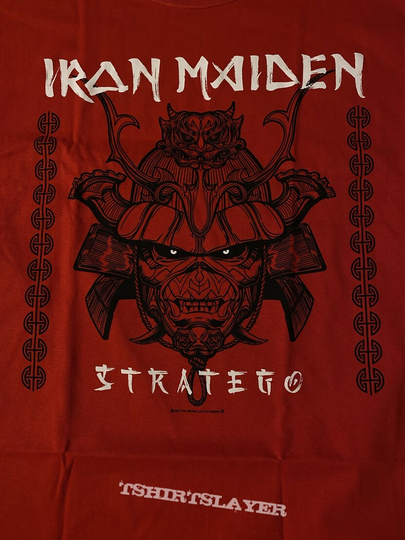 Iron Maiden Stratego Red Shirt