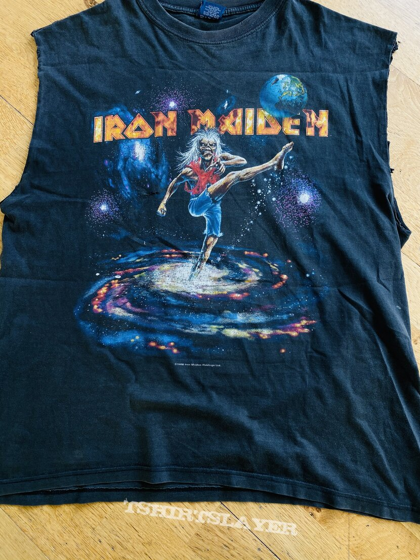 Iron Maiden Virtual Xi Tour Shirt 1998