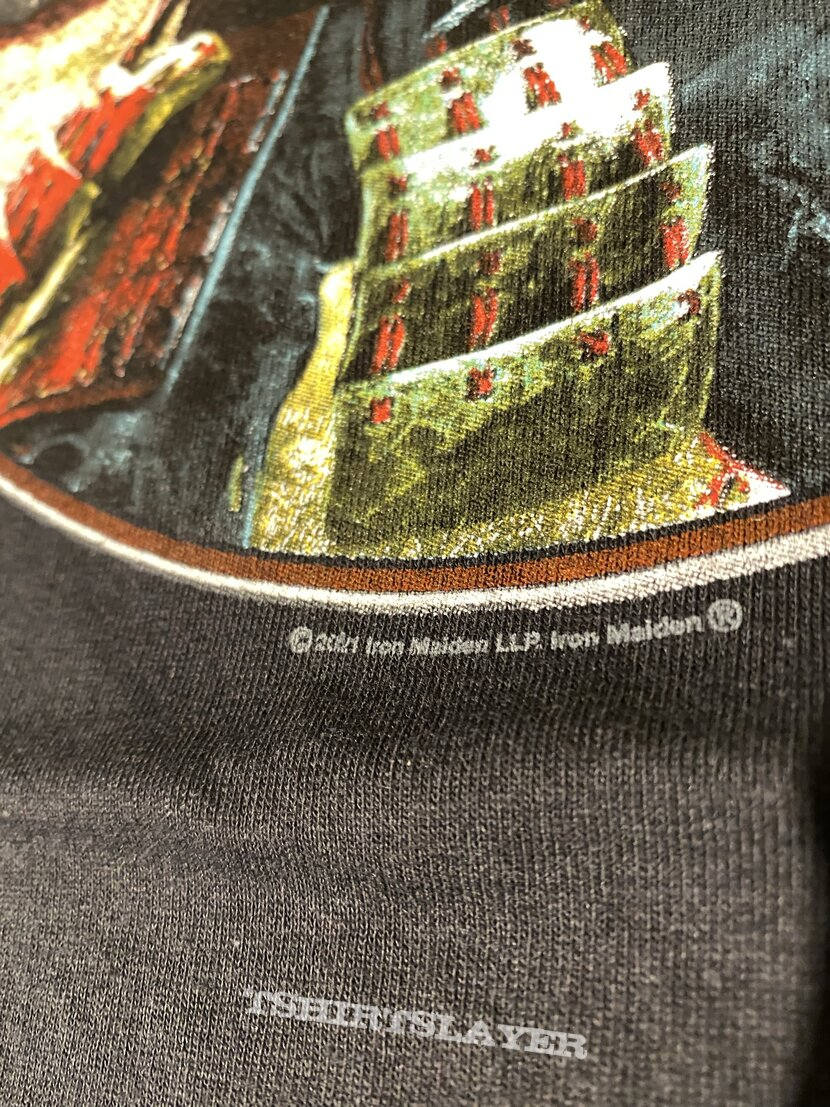 Iron Maiden Senjutsu Album Palace Circle Tee