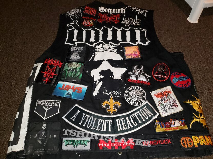Metal Battle Vest