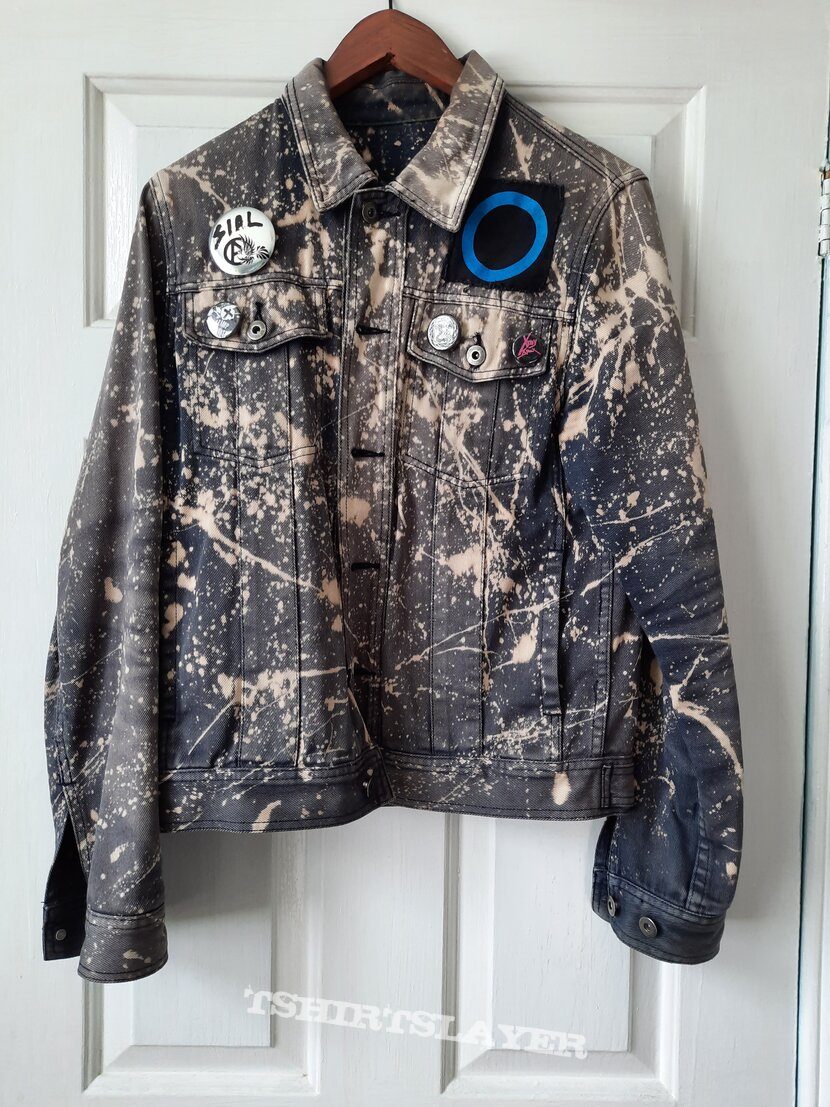 Bleached jacket