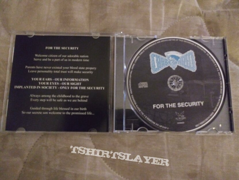 Carbonized for the security reissue cd