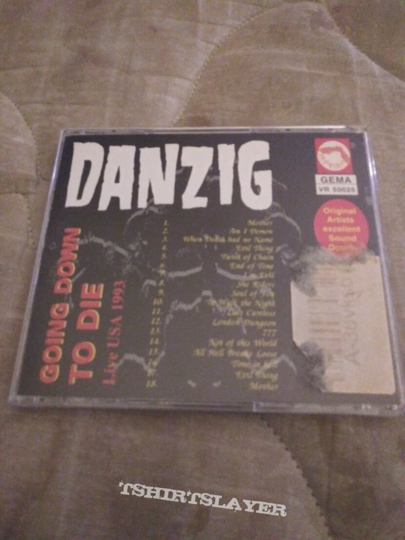 """Danzig going down to die usa live """"93 cd"""