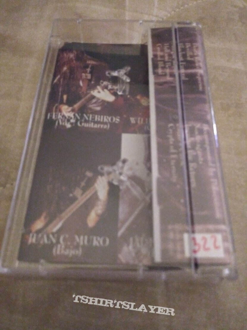 Mortem decomposed by possession cassette tape 2000 # 322 of 666