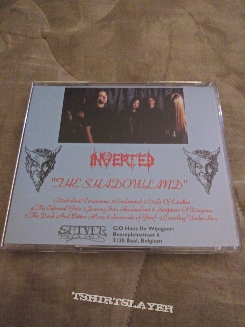 Inverted the shadowland cd reissue