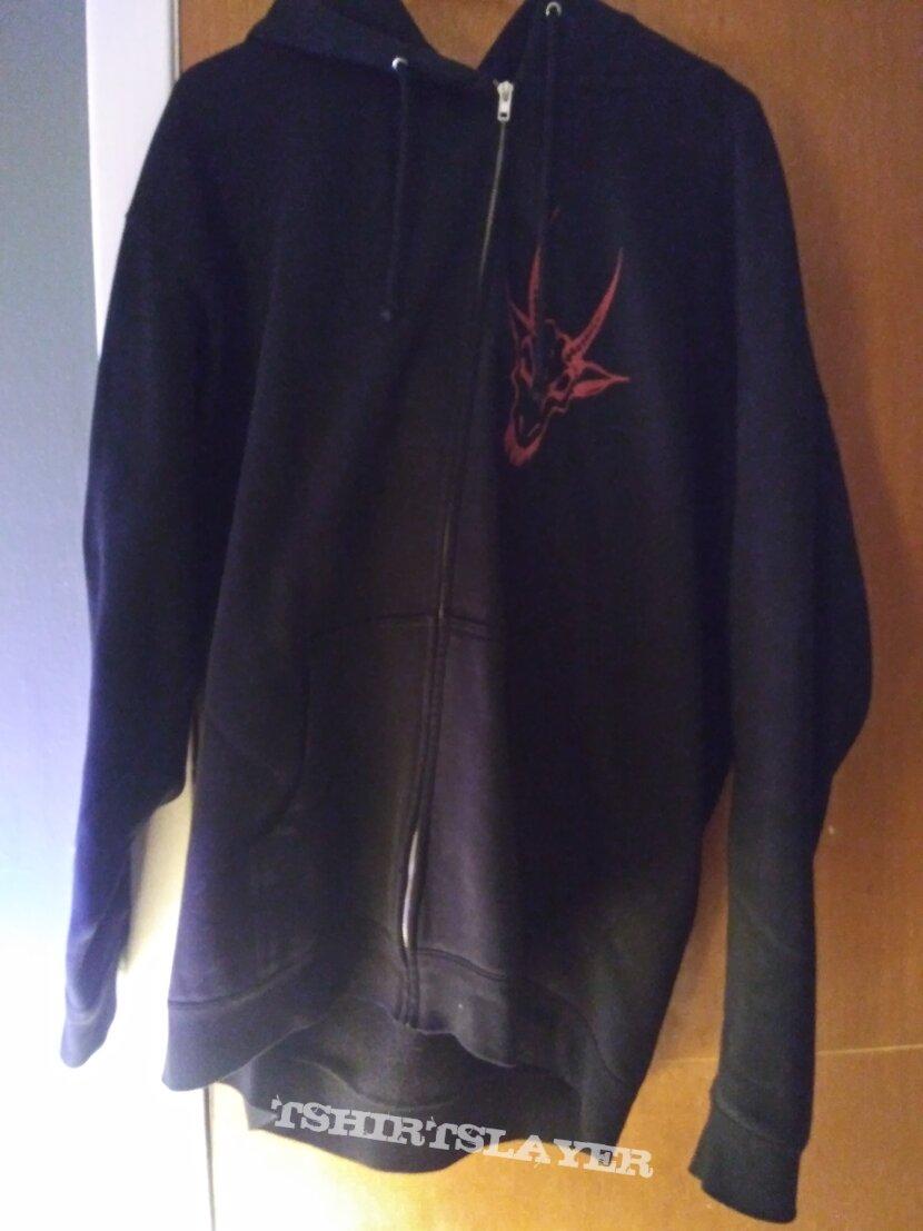 Nunslaughter 2XL mens devil metal hoodie HHR