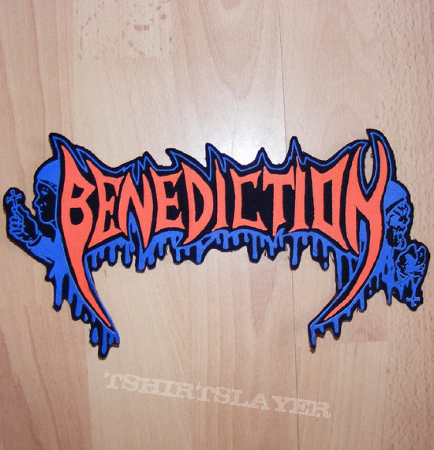 BENEDICTION - The Grotesque / Ashen Epitaph - Backpatch [Shaped]