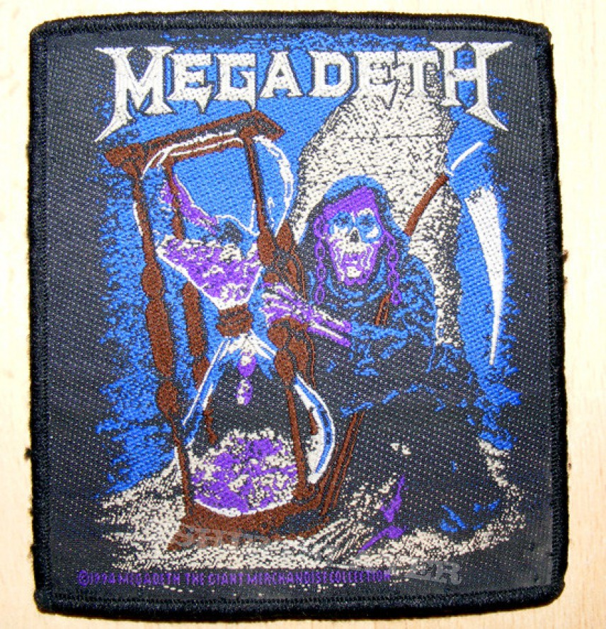 Patch - MEGADETH - Countdown to Extinction [Received from StereoDeth]