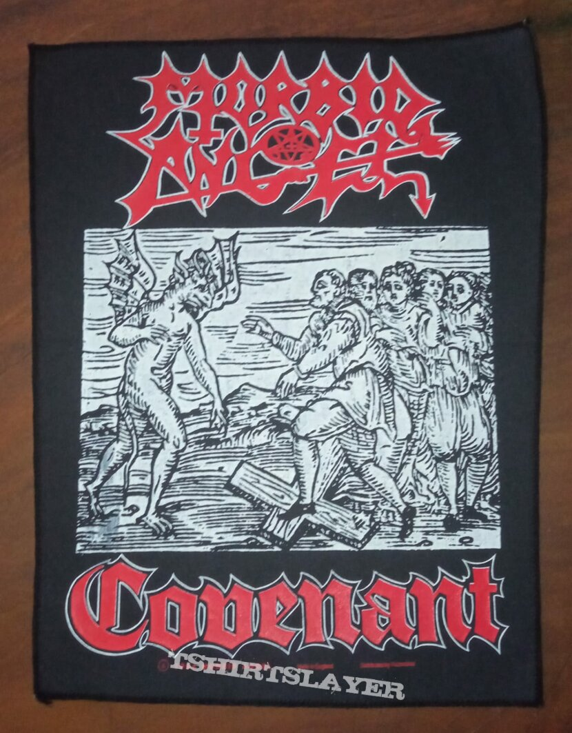 Morbid angel covenant backpatches