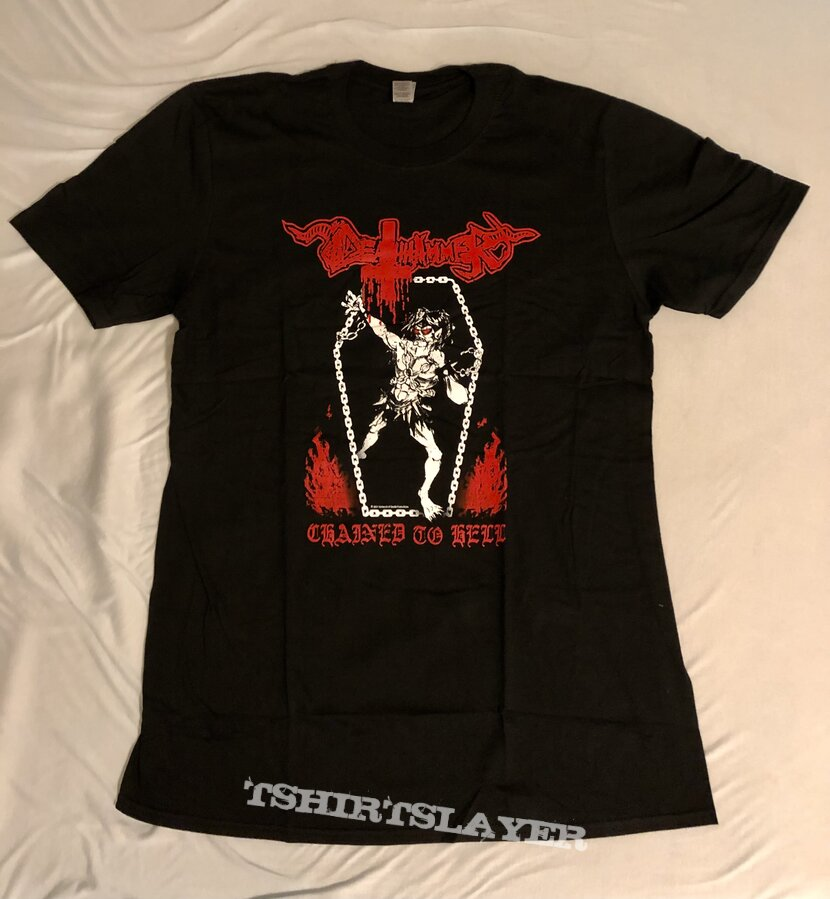 Deathhammer Chained to Hell Official Tshirt