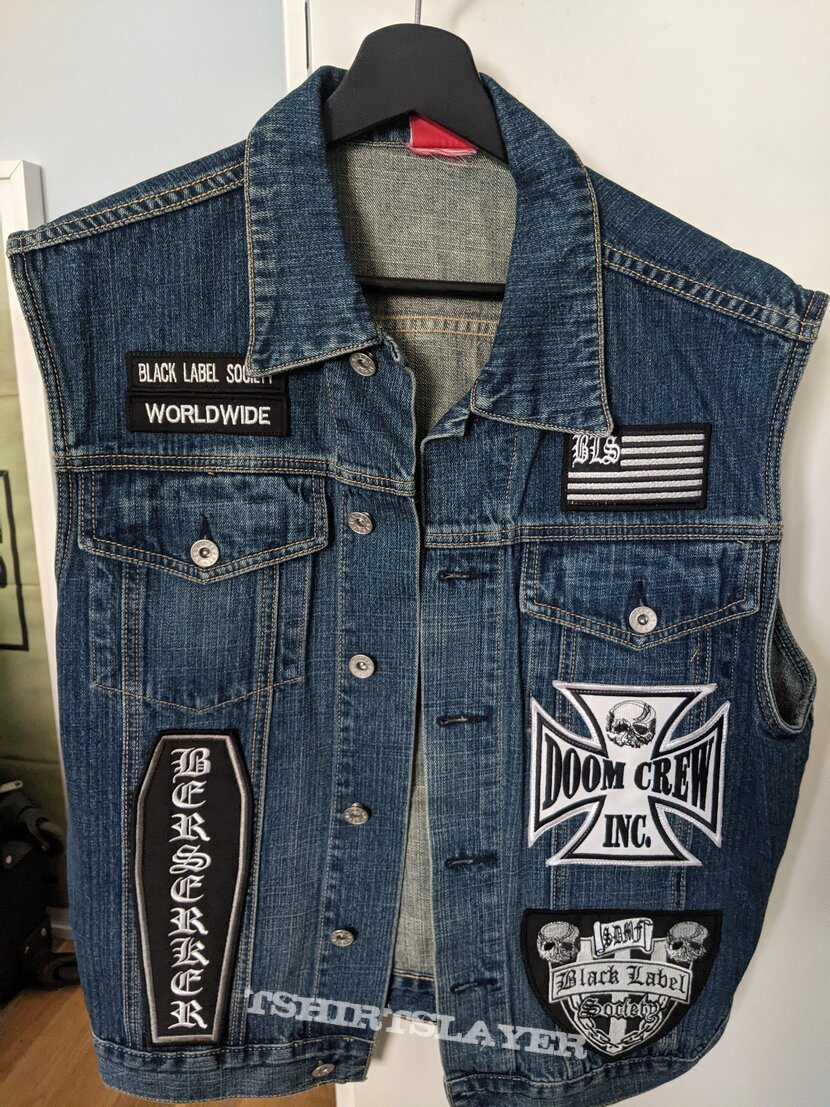 Black Label Society Vest