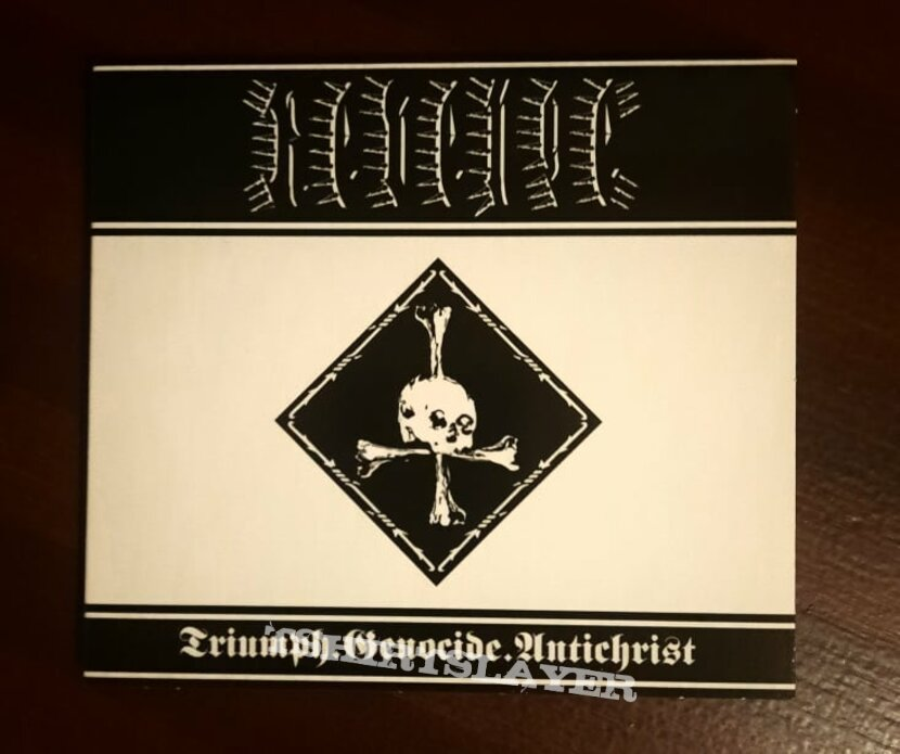 Revenge - Triumph.Genocide.Antichrist (CD)