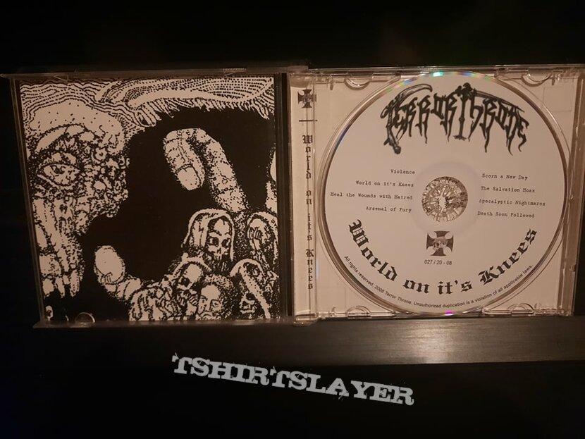 Terror Throne - World on It's Knees ( CD )