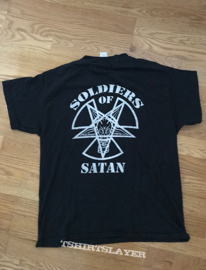 soldiers of satan t-shirt
