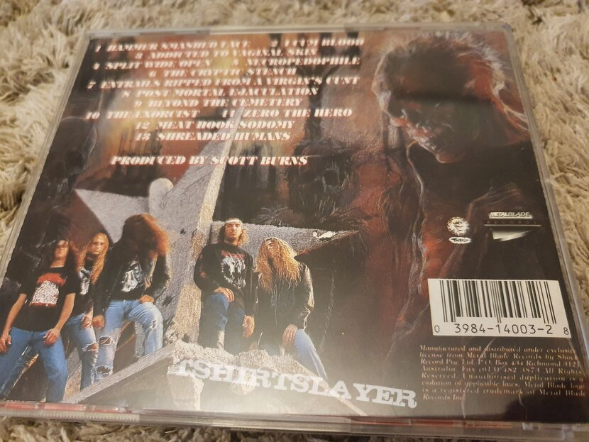 "Cannibal Corpse TotM/HSF ""double album"""