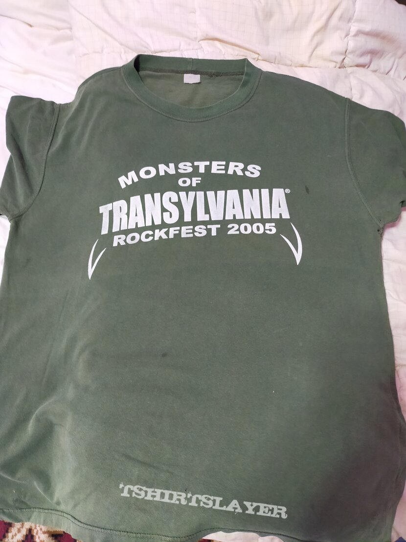 Anvil,the story of Anvil movie crew only TShirt-Monsters of Transylvania Rockfest