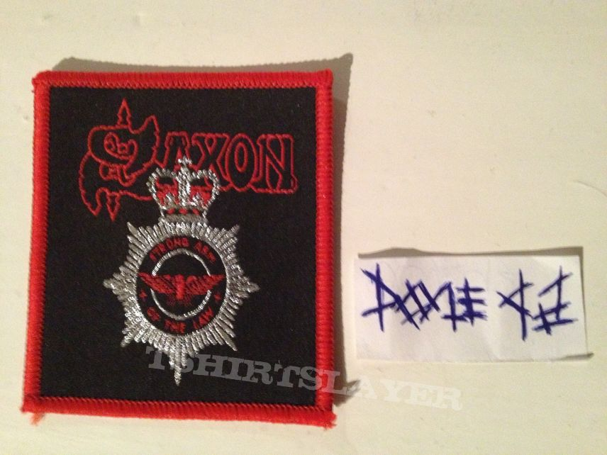 Patch - Saxon - Strong Arm Of The Law