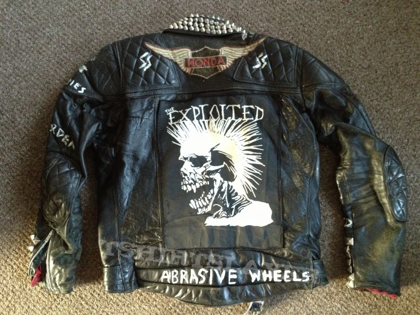 Battle Jacket - Punk Leathers.