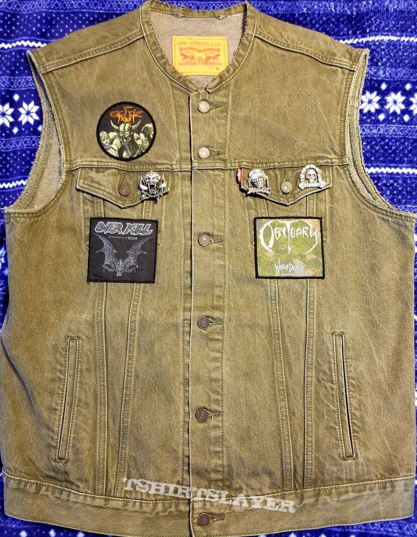 Old School Thrash/Death Vest.