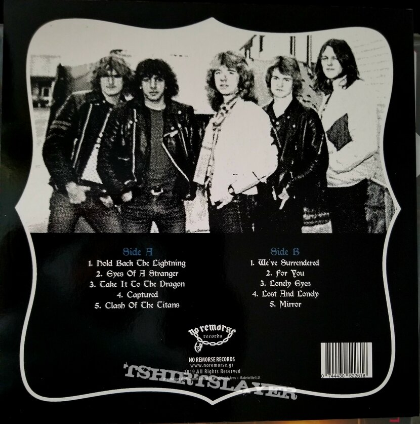 "Tyrant ""Hold Back The Lightning"" LP."