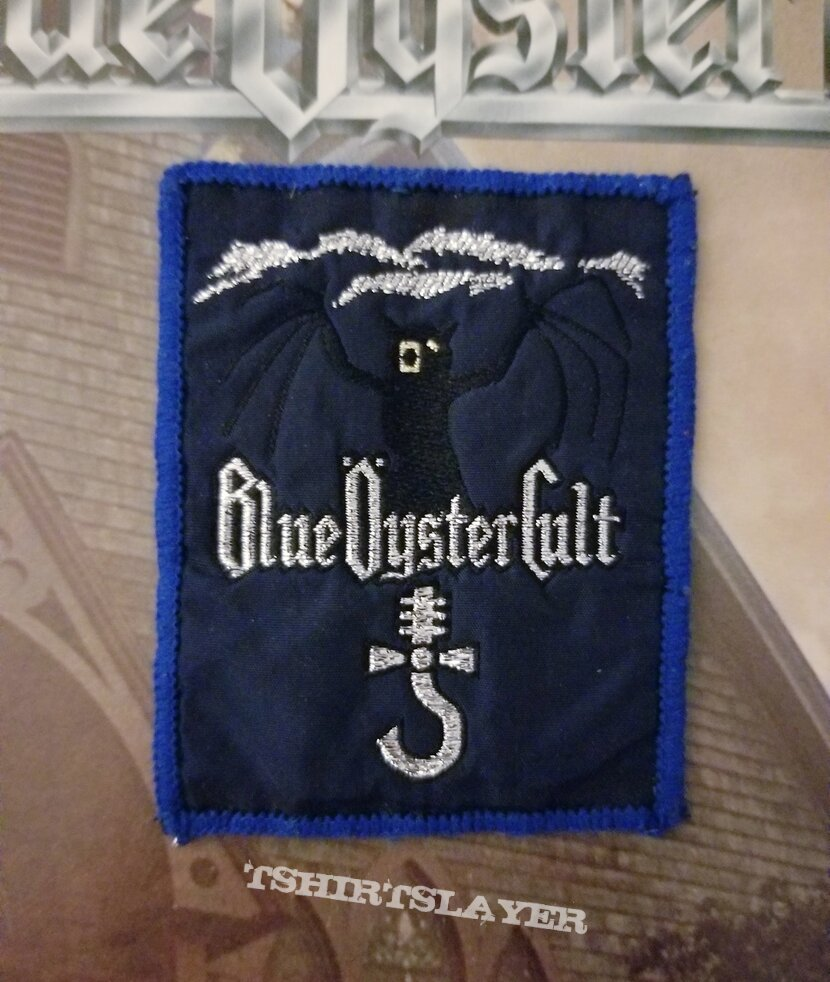"""Blue Oyster Cult """"On Your Feet Or On Your Knees"""" 2-LP And Patch."""