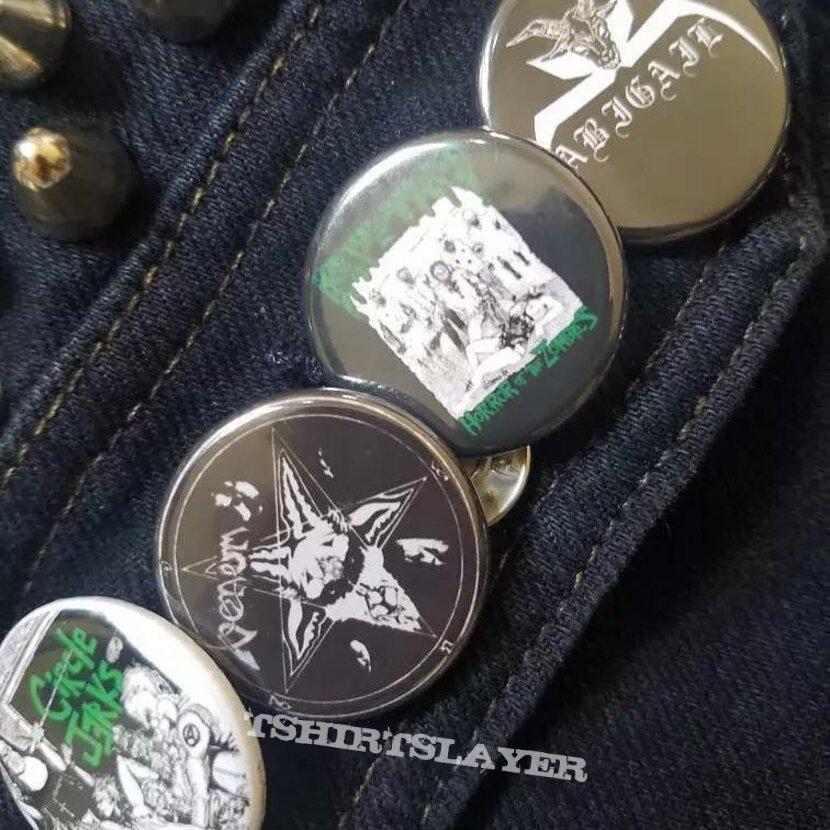 Cropped denim battle vest!
