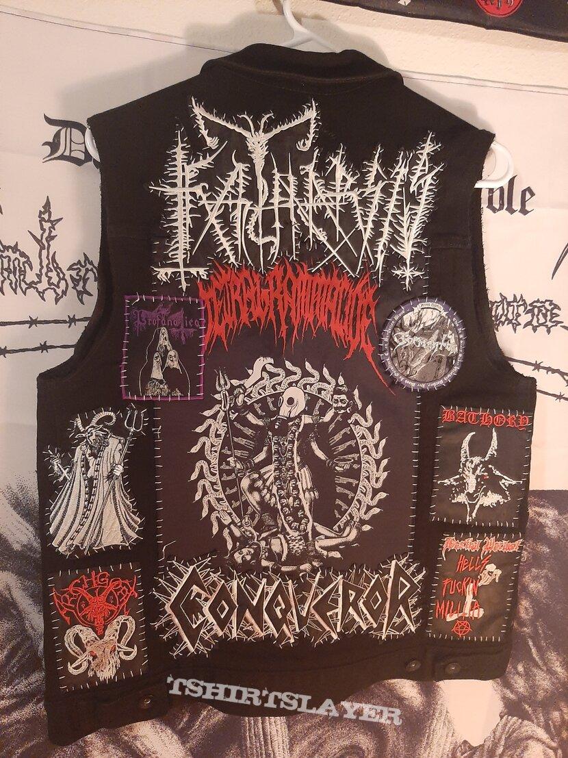 Black/Death/War vest