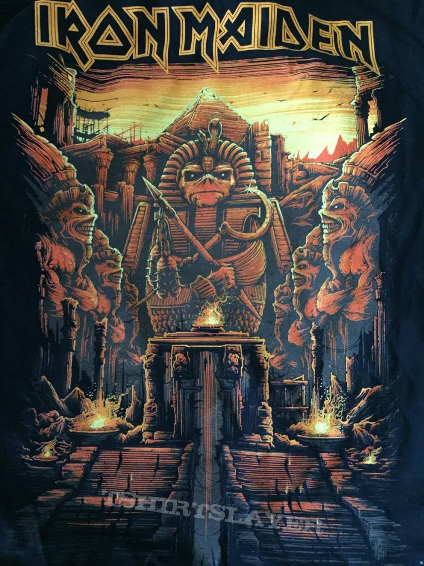 iron maiden book of souls tourshirt without book of souls artwork tshirtslayer tshirt and. Black Bedroom Furniture Sets. Home Design Ideas