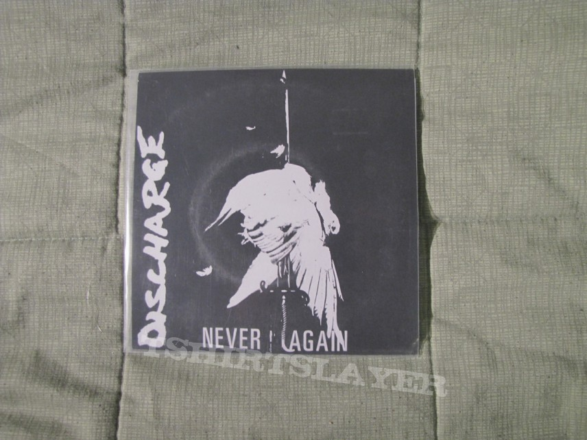 "Other Collectable - Discharge - Never Again [7"" 2003-rerelease]"