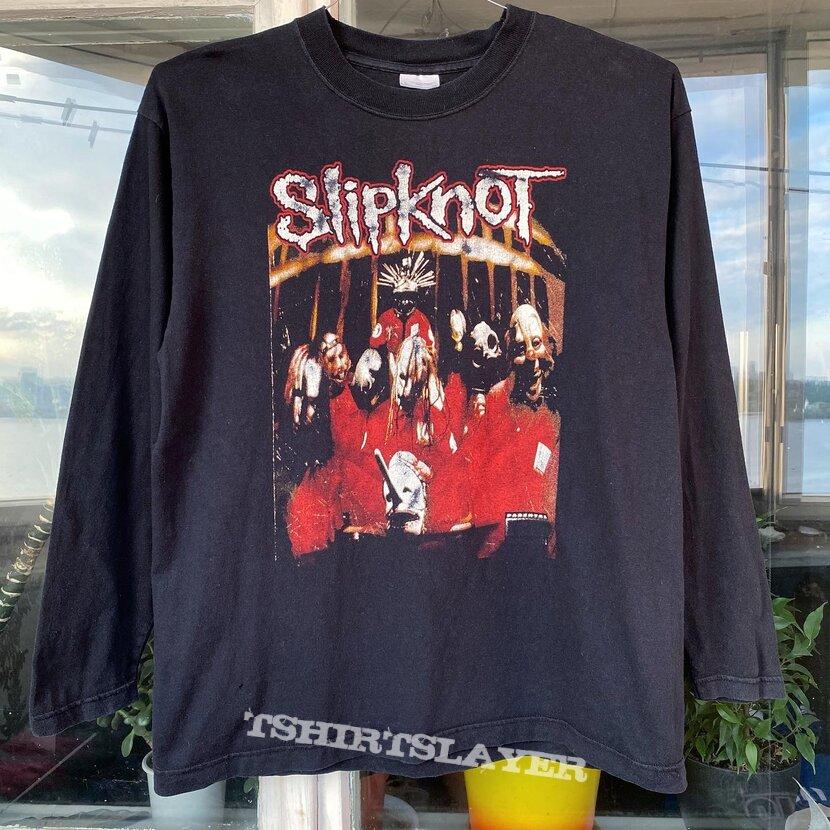 Vintage 1999 Slipknot debut album tour Longsleeve