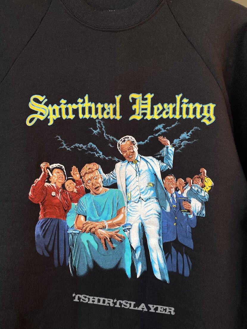 Death 1990 tour sweatshirt Spiritual Healing