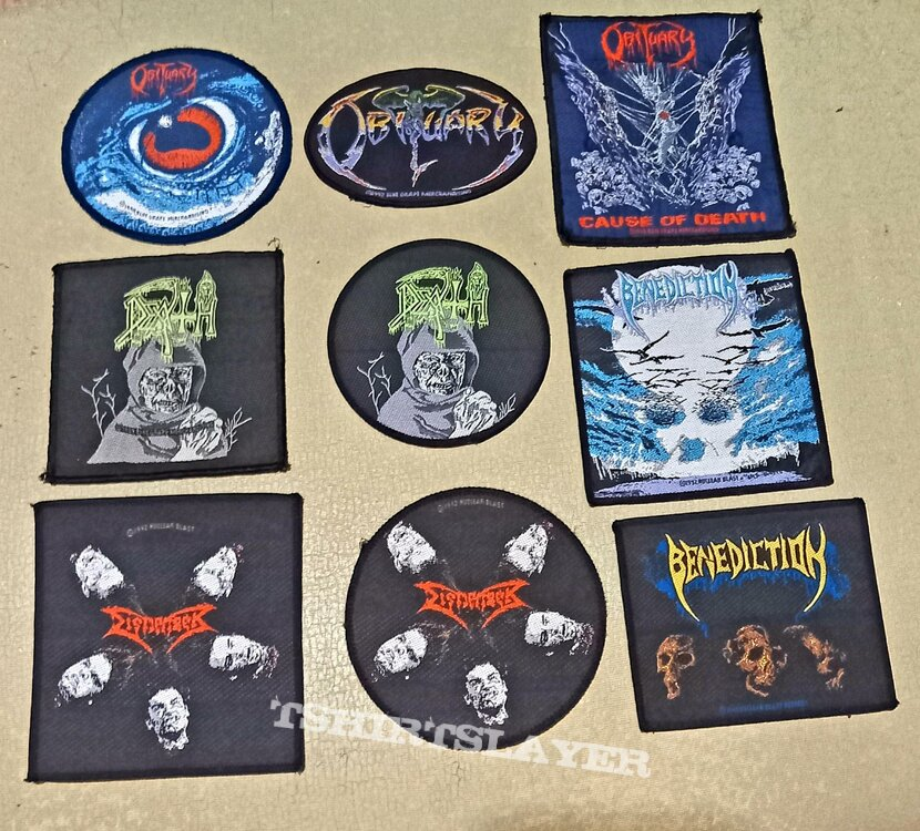 Vintage patches (some used some mint)