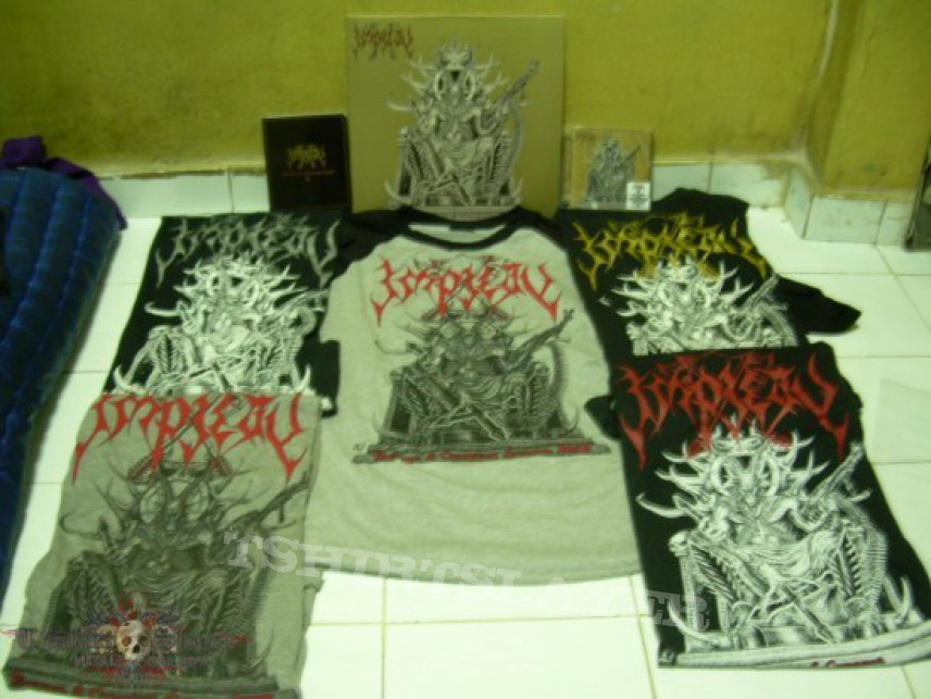 """TShirt or Longsleeve - Impiety""""ravage&conquer""""t-shirt,cd and vinyl"""