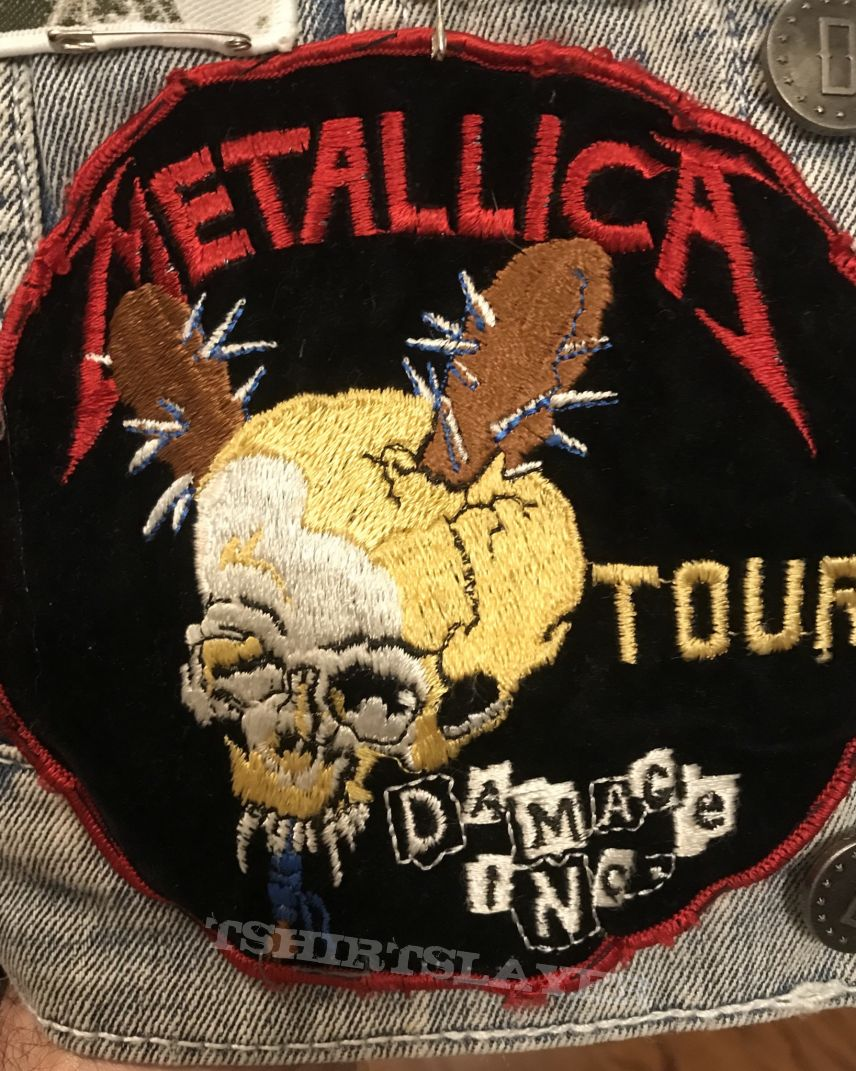 Metallica Damage Inc patch from 1987