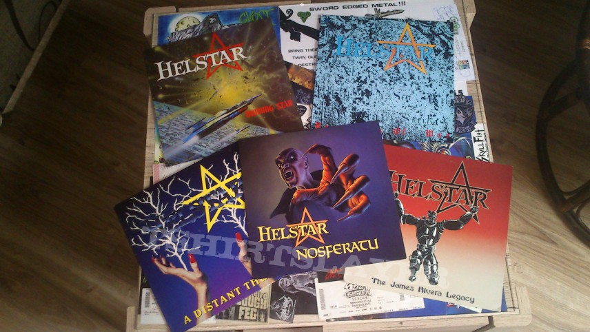 Helstar record collection