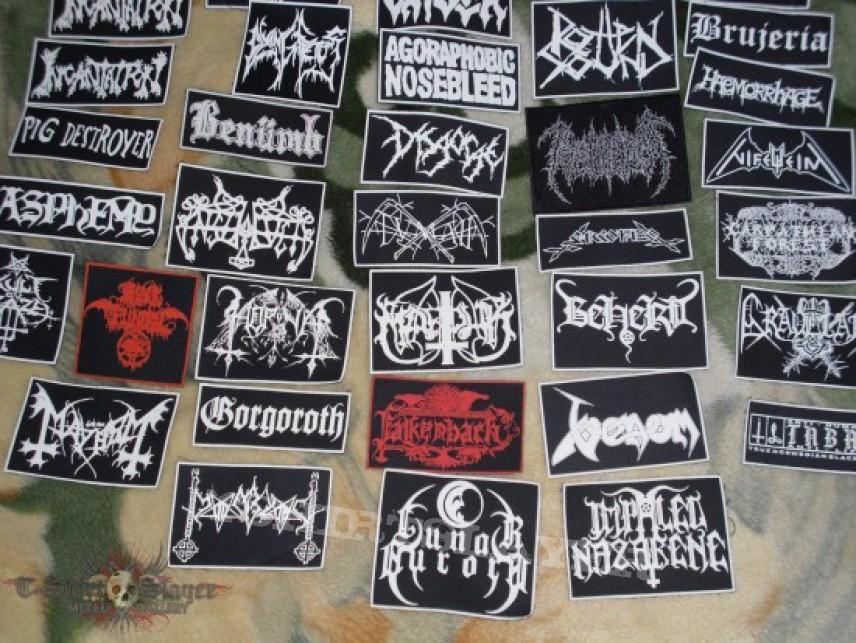 Patch - black,death,grind,pagan,thrash patches