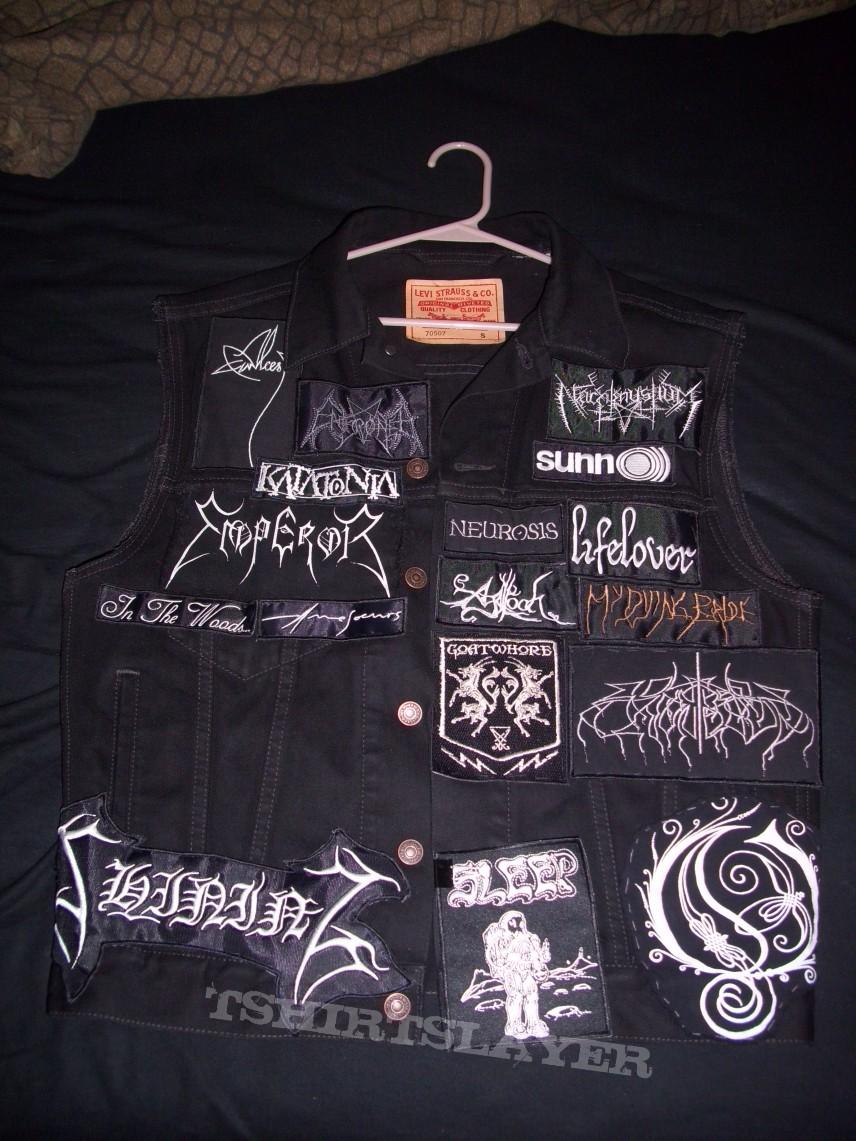 2nd vest (work in progress)
