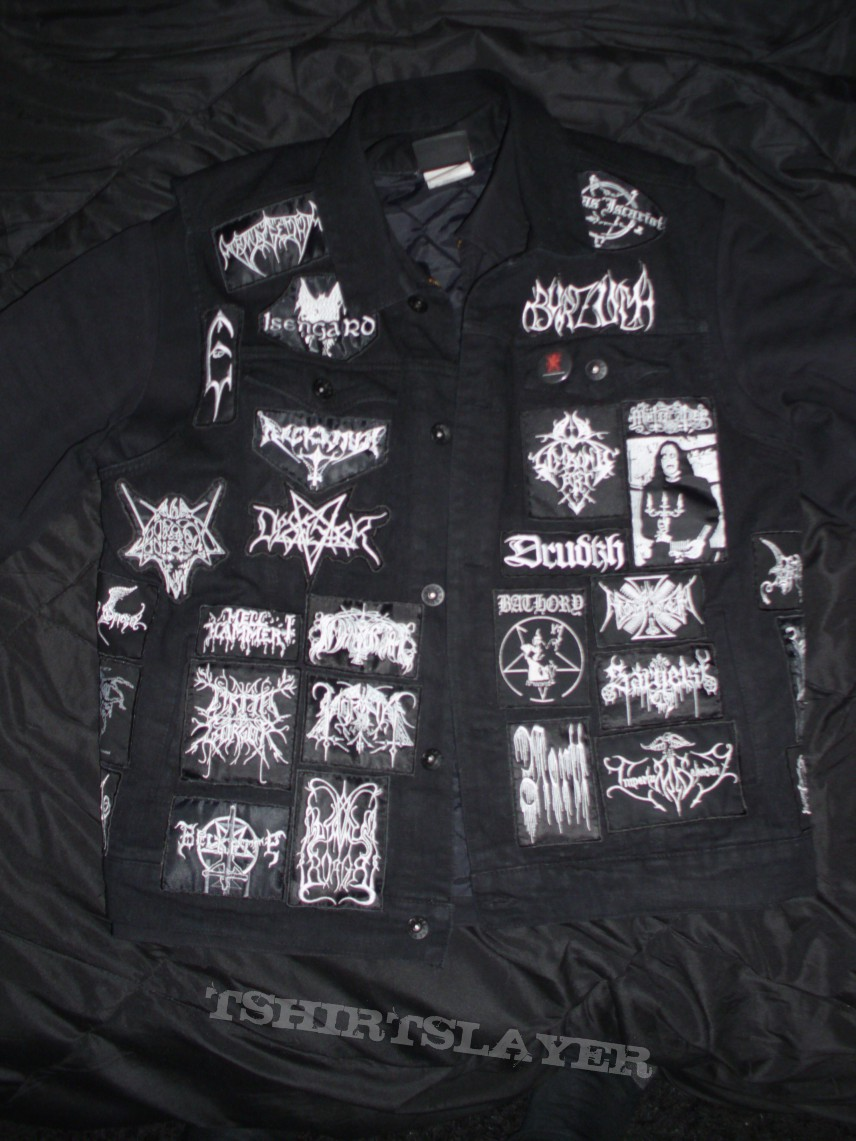 Black Battle Jacket