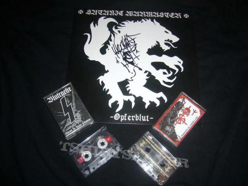 Satanic Warmaster, White Wolves Kommando & Blutrache