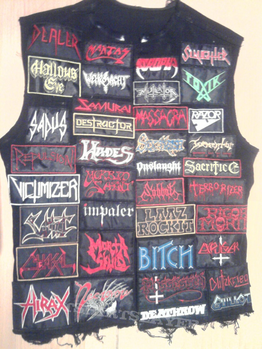 Battle Jacket From Hell!!