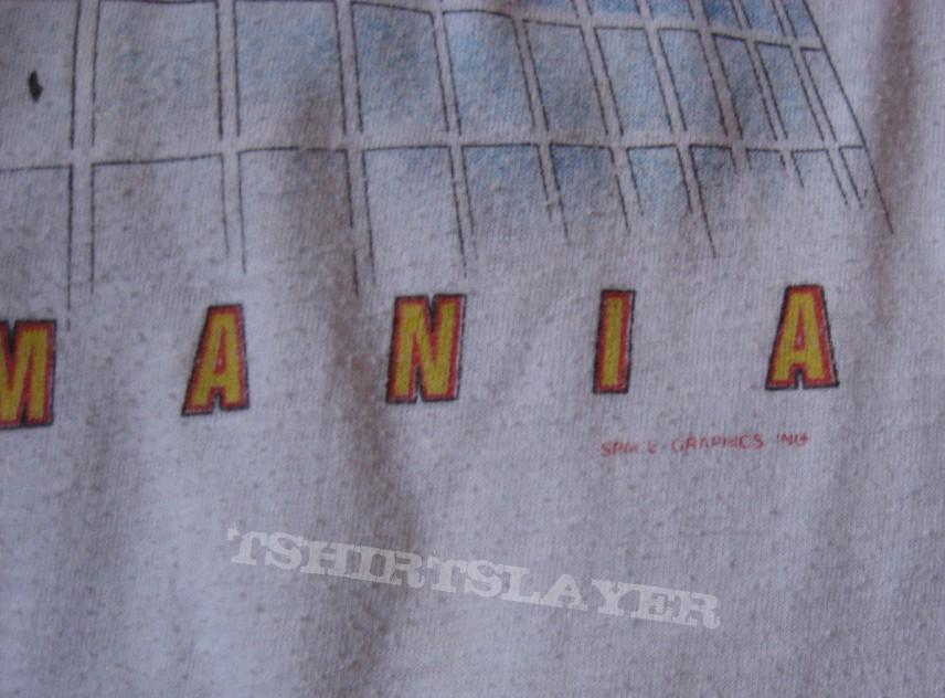 "DEF LEPPARD ""Pyromania Tour 1983"" original raglan shirt"