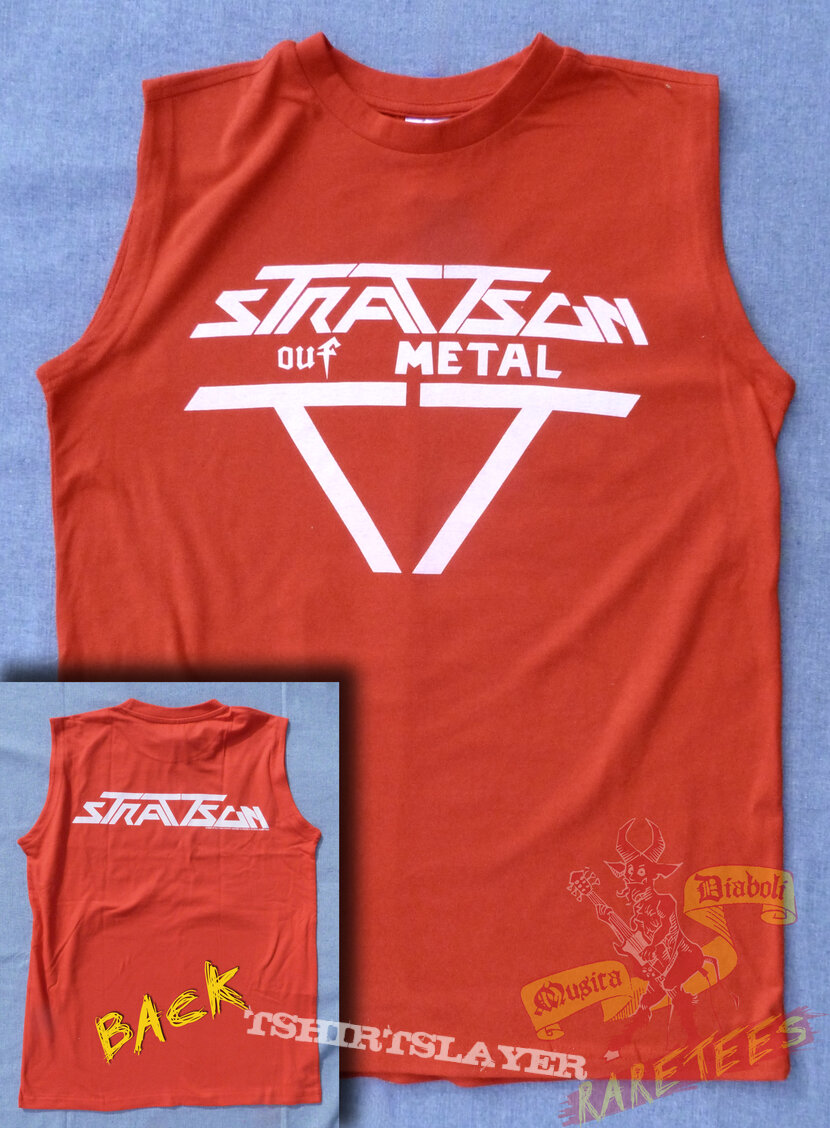 Official STRATTSON c1985 muscle shirt reissue