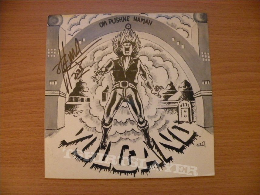 Other Collectable - signed Vulcano- Om pushne namah ep