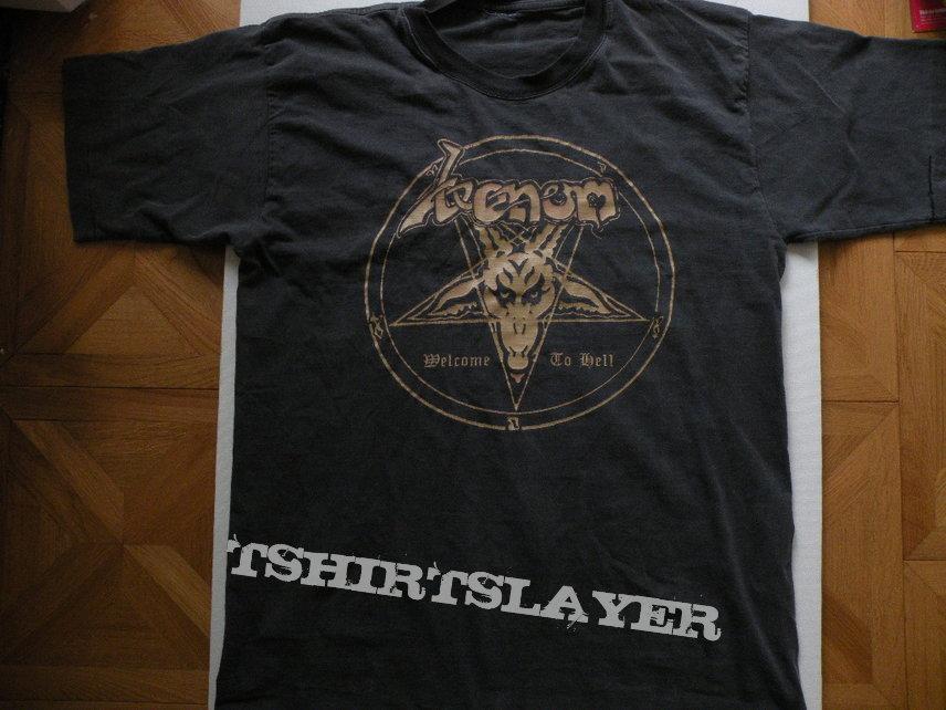 Venom- Welcome to Hell 1995 European tourshirt